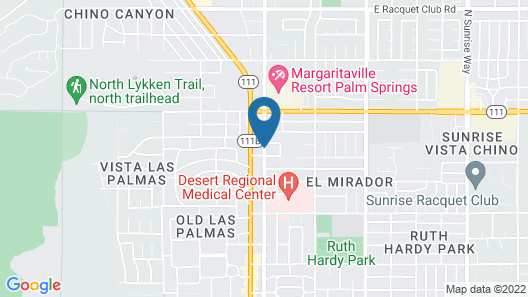 Palm Springs Rendezvous Map