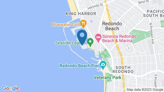 Portofino Hotel & Marina - A Noble House Hotel Map