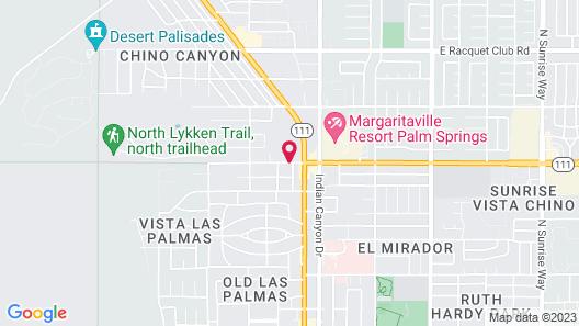 Desert Vacation Villas, a VRI resort Map