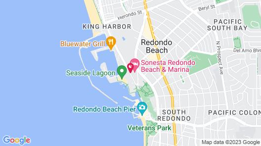 Sonesta Redondo Beach & Marina Map