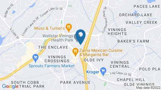 Red Roof Inn PLUS+ & Suites Atlanta-Cumberland/Vinings Map