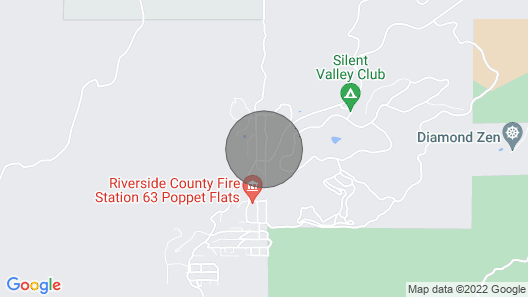 BoozerBNB Cabin Map