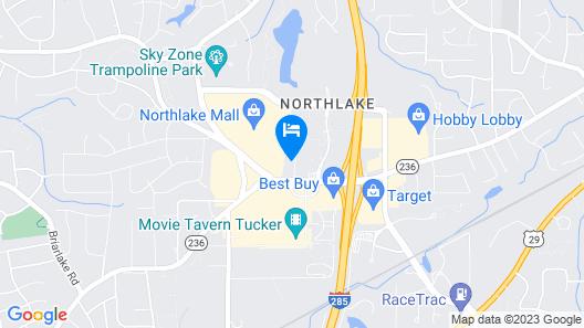 Holiday Inn Atlanta-Northlake, an IHG Hotel Map