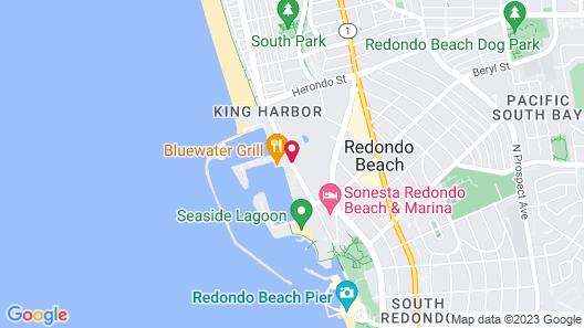 Shade Hotel Redondo Beach Map