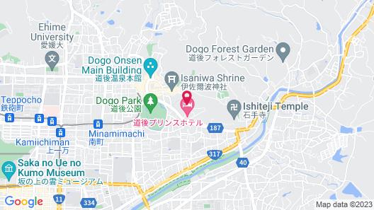 Yukai Resort Dogoonsen Dogo Saichoraku Map