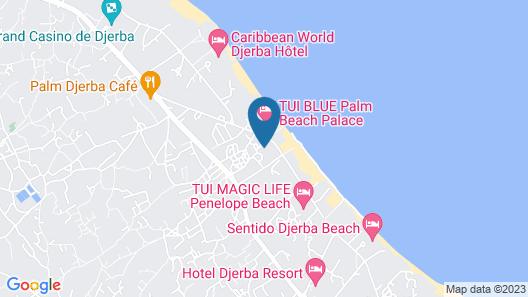 Dar Jerba Zahra Map