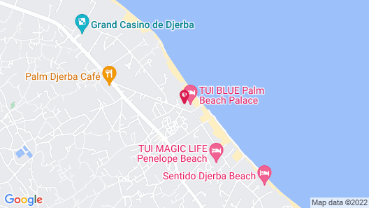 TUI BLUE Palm Beach Palace - All Inclusive Map