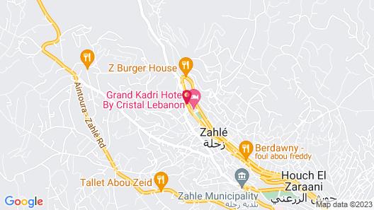 Grand Kadri Hotel Map