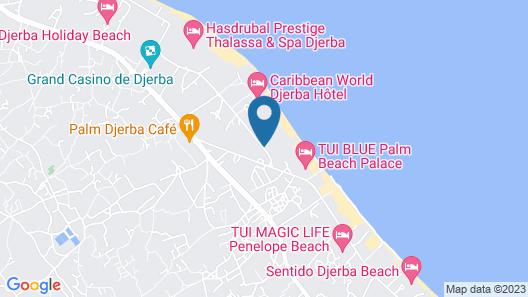 Palm Beach Club Marmara Djerba - All Inclusive Map