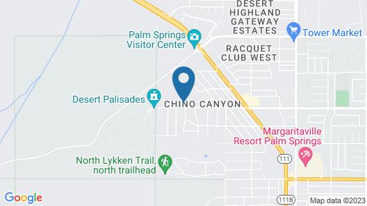 Hillside Luxury Map