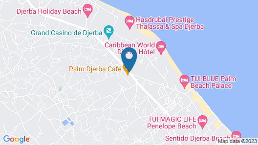 Palm Djerba Map