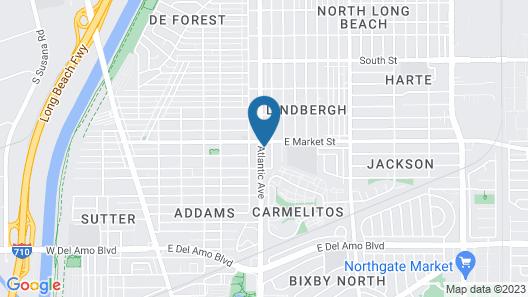 Flamingo Inn Long Beach Map