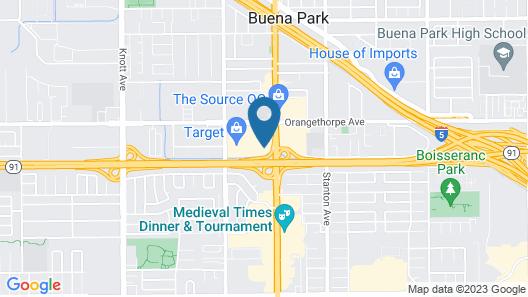 Days Inn by Wyndham Buena Park Map
