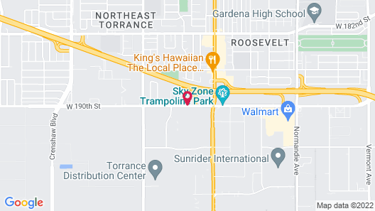 Sonesta Select Los Angeles Torrance Map