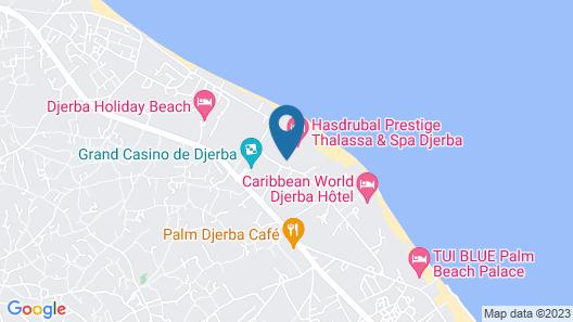 Hasdrubal Prestige Thalassa & Spa Djerba Map