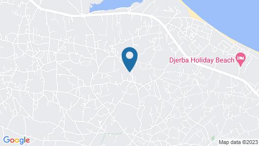 Hotel Dar Mezraya Jerba Map