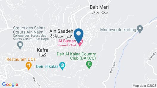 Al Bustan Hotel & Spa Map