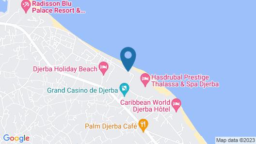 Hotel Dar el Bhar Map