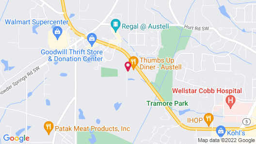 Holiday Inn Express Hotel & Suites Austell - Powder Springs, an IHG Hotel Map