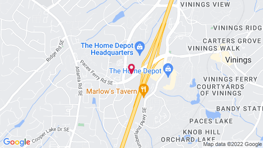 La Quinta Inn & Suites by Wyndham Atlanta Ballpark/Galleria Map