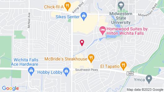 La Quinta Inn & Suites by Wyndham Wichita Falls - MSU Area Map