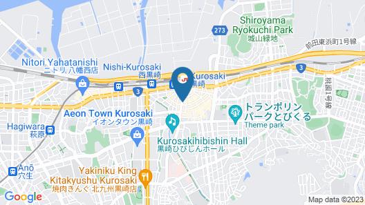 ARC INN KUROSAKI PLUS Map