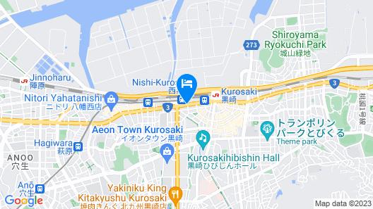 Comfort Hotel Kurosaki Map