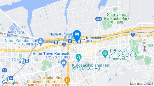 Nishitetsu Inn Kurosaki Map