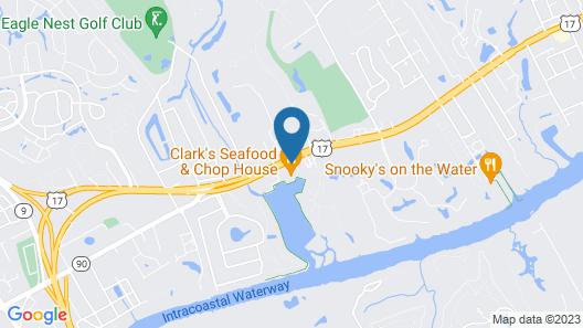 Holiday Inn Express N.Myrtle Beach- Little River, an IHG Hotel Map