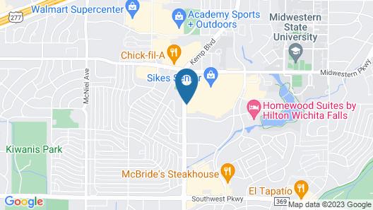 Hampton Inn Wichita Falls Sikes Senter Mall Map