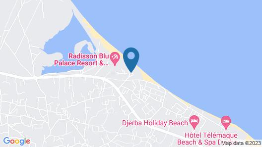 TUI BLUE Ulysse Djerba Resort & Thalasso Map