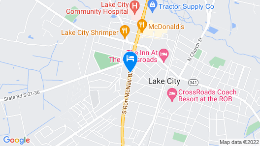 Days Inn by Wyndham Lake City Map