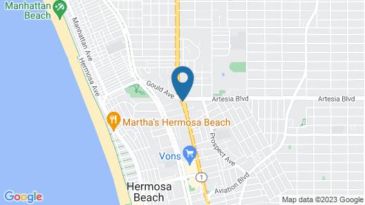 Hotel Hermosa Map