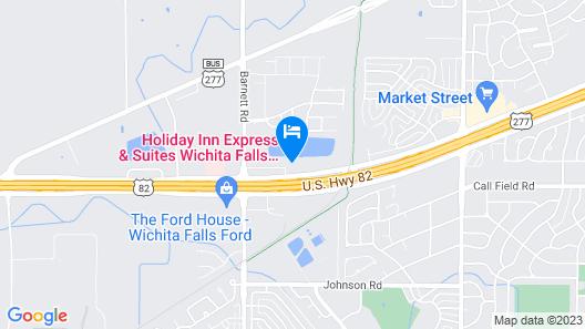 Holiday Inn Express Wichita Falls, an IHG Hotel Map