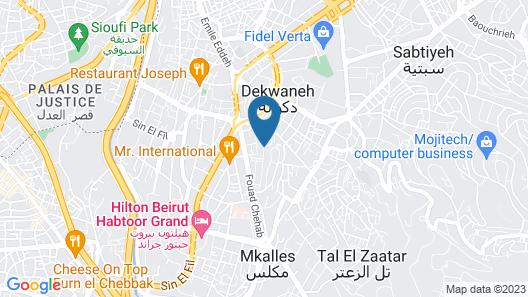 The Cosmopolitan Hotel Map