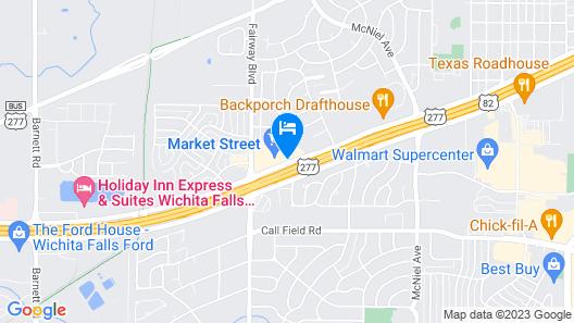 Baymont by Wyndham Wichita Falls Map