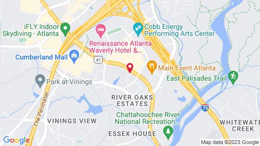 Homewood Suites by Hilton Atlanta-Galleria/Cumberland Map