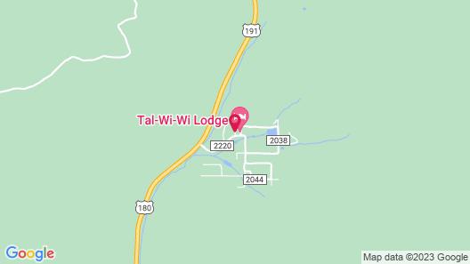 Tal WiWi Lodge Map