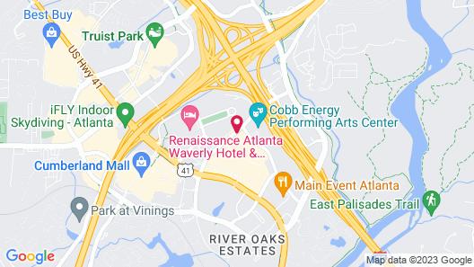 Embassy Suites Atlanta - Galleria Map