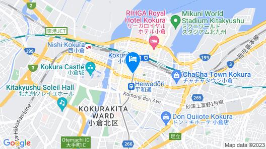Daiwa Roynet Hotel Kokura-Ekimae Map