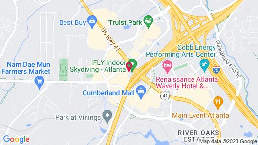 Wingate by Wyndham Atlanta Galleria/Ballpark Map