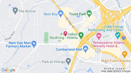 Residence Inn by Marriott Atlanta Cumberland/Galleria Map