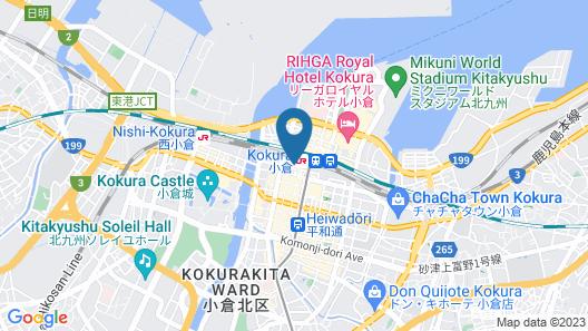 HOTEL LiVEMAX Kokura-ekimae Map