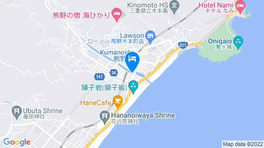 Business Hotel Miharashitei Map
