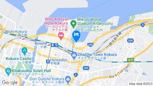 HOTEL C.KOKURA-BAY Map
