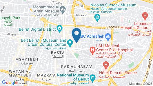 Hotel Albergo Map