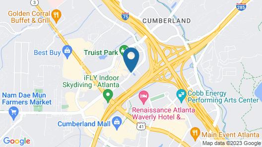 Omni Hotel At The Battery Atlanta Map