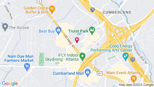 DoubleTree Suites by Hilton Atlanta - Galleria Map