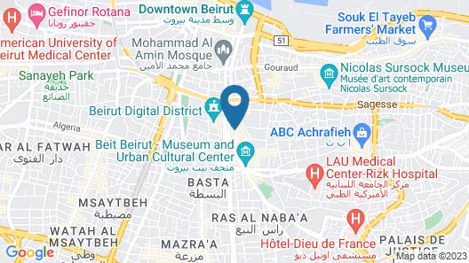 Alife Apart Hotel Map