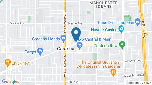 New Gardena Hotel Map